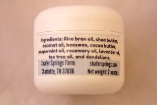dandelion salve ingredients