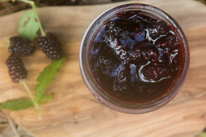 blackberry ginger jam