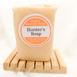 Hunter's soap handmade