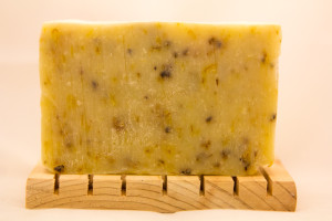 All natural cornmeal and calendula soap