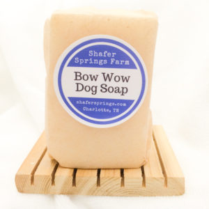 Bow Wow dog soap
