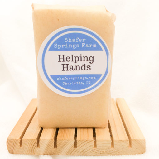 Helping Hands soap