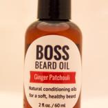 beard oil ginger patchouli