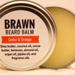 cedar and orange beard balm