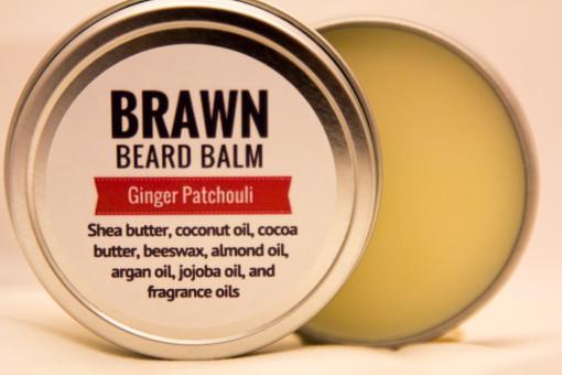 Ginger Patchouli beard balm