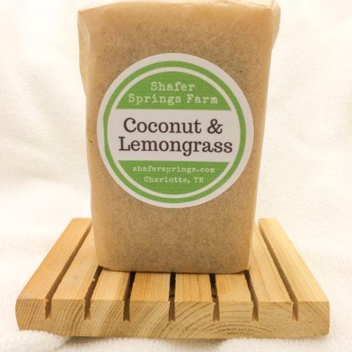Coconut Lemongrass soap