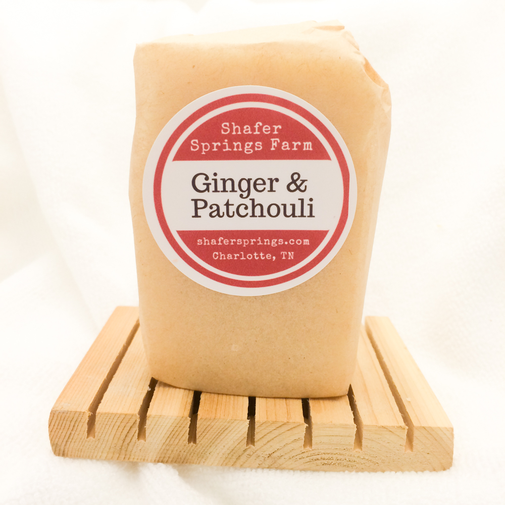 Ginger and Patchouli soap
