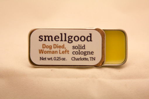 Solid cologne - Dog Died Woman Left