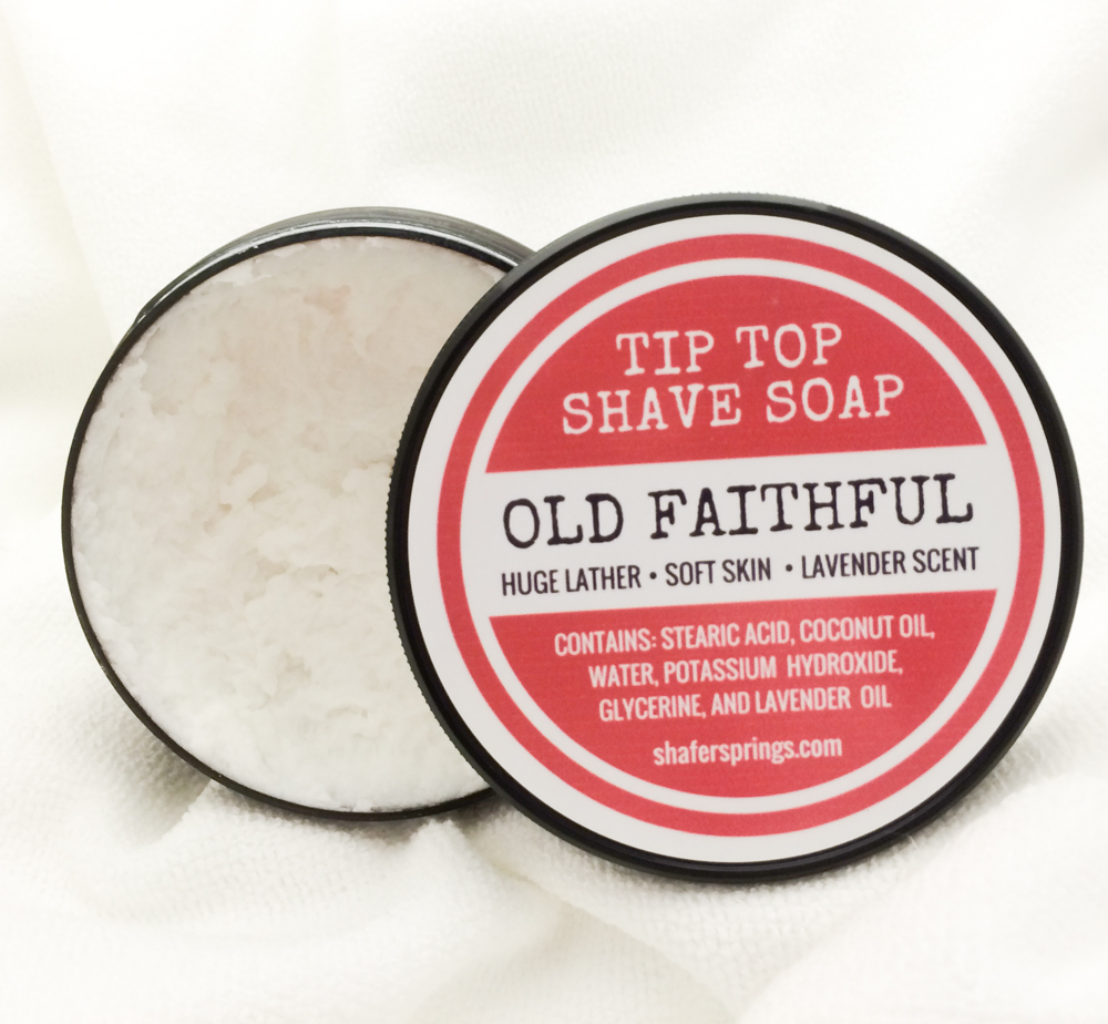 Old Faithful shaving soap cream