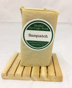 Sasquatch soap - Shafer Springs