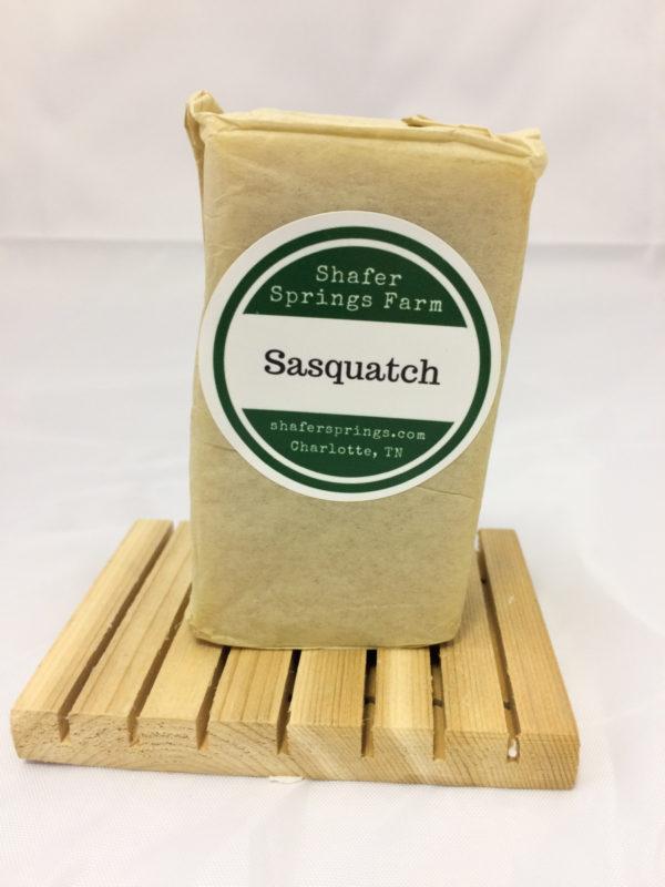 Sasquatch soap - Shafer Springs