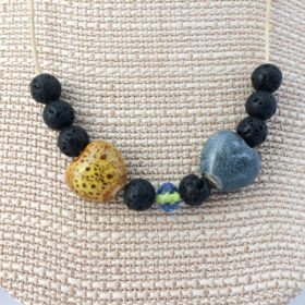 lava rock diffuser necklace-3