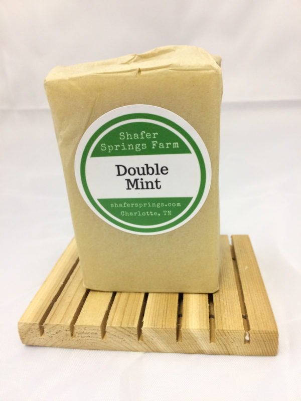 Double Mint soap - Shafer Springs