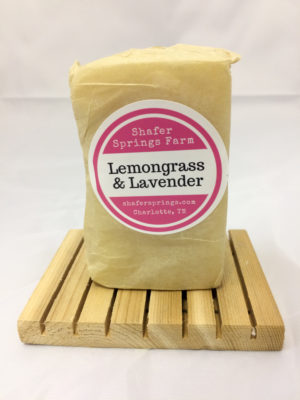 Lemongrass and Lavender soap - Shafer Springs