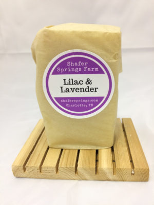 Lilac and Lavender soap - Shafer Springs