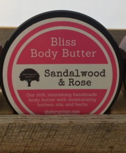 sandalwood rose body butter