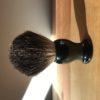 Black badger hair shaving brush